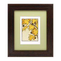 Mitered Wood Picture Frame Narrow